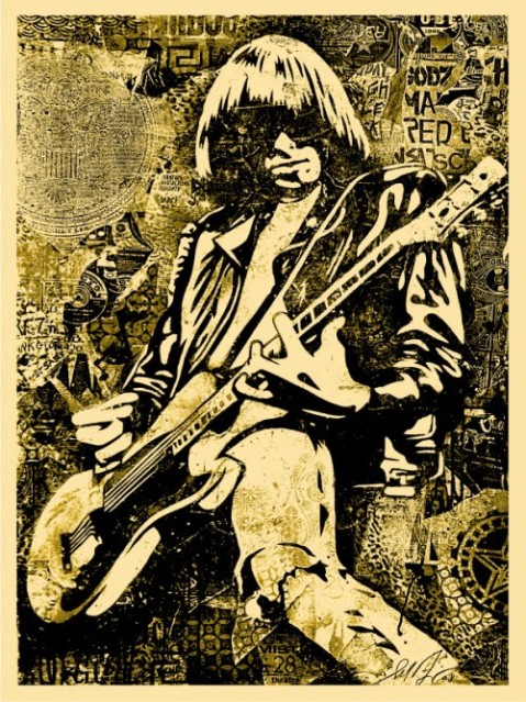 johnny-ramone-goldposter-500x666
