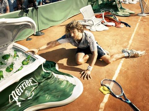Perrier- Melt, Tennis